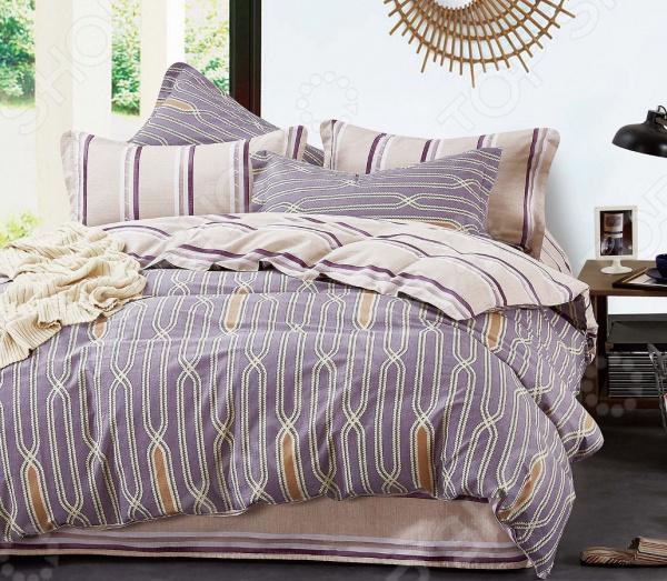 Комплект постельного белья Cleo 406-SK комплект постельного белья двуспальный cleo sk 2 441