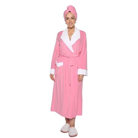 Купить Халат Алтекс «Махровое чудо». Цвет: розовый