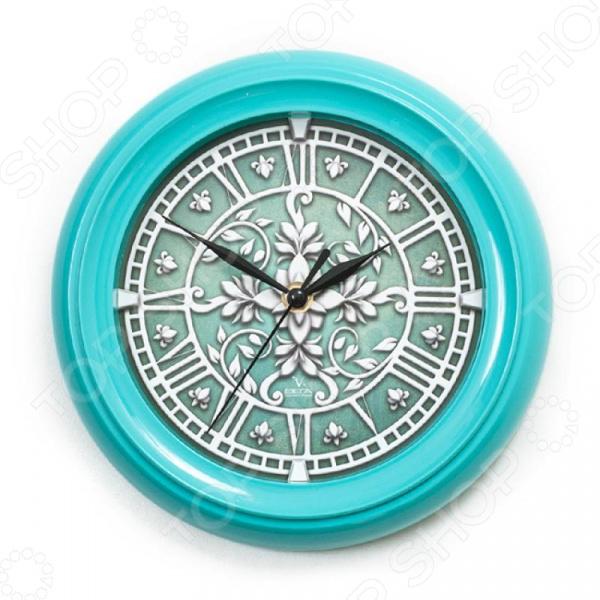 Часы настенные Вега П 6-16-42 «Лепнина»