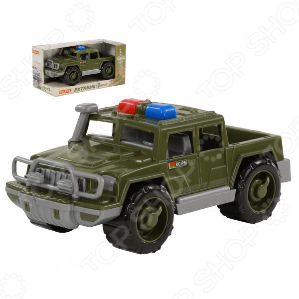Машинка игрушечная POLESIE «Пикап военный патрульный. Защитник» polesie смурфетта