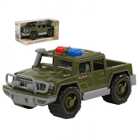 Купить Машинка игрушечная POLESIE «Пикап военный патрульный. Защитник»