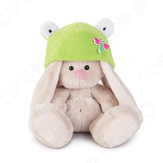 Мягкая игрушка BUDI BASA «Зайка Ми в шапке-лягушка»