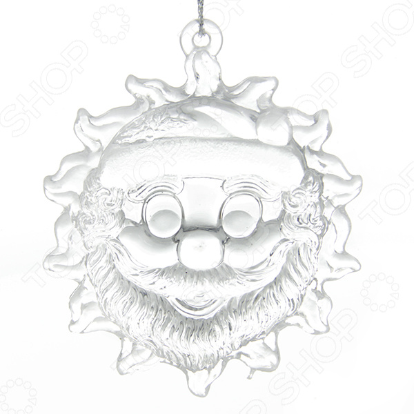 Елочное украшение со светодиодами Елочное украшение Crystal Deco «Звезда, Луна, Солнце». В ассортименте