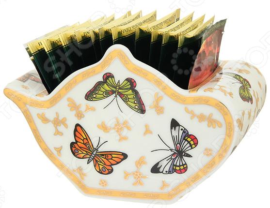 Подставка сервировочная под чайные пакетики Elan Gallery «Бабочки» подставки под пакетики nuova r2s подставки под пакетики