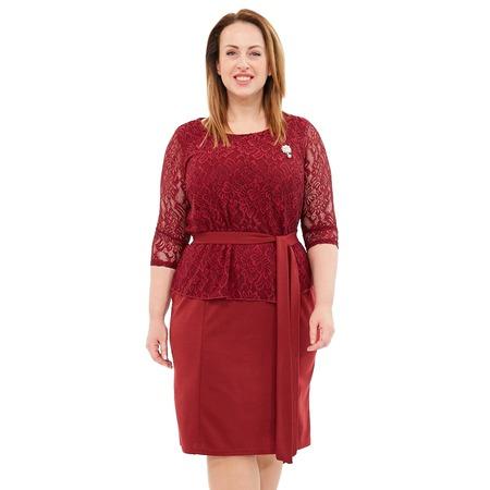 Купить Платье Лауме-Лайн «Царица». Цвет: бордовый