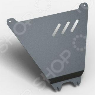Комплект: защита раздаточной коробки и крепеж Novline-Autofamily Chevrolet Niva 2009 (3 мм): 1,7 бензин МКПП подкрылок novline autofamily chevrolet spark 2010