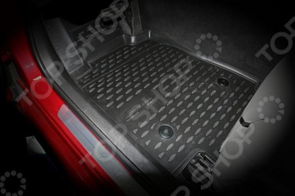 Комплект 3D ковриков в салон автомобиля Novline-Autofamily Cadillac ATS 2013