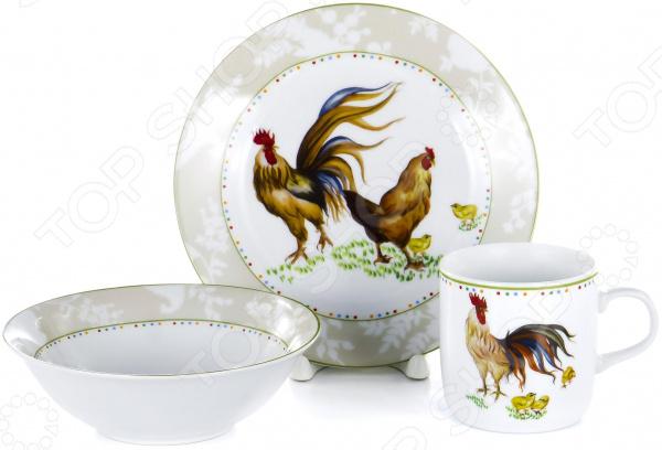 Набор посуды для детей OlAff Children C388