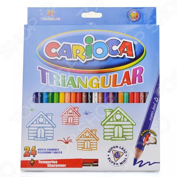 Набор карандашей цветных Universal Carioca Triangular 42516