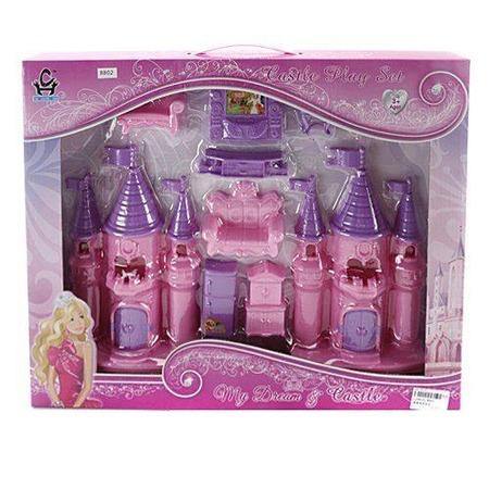 Купить Замок кукольный Shantou Gepai с мебелью 8802