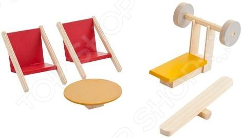 Набор мебели для мини-кукол PAREMO «Спортивный уголок» набор мебели для мини кукол paremo кухня