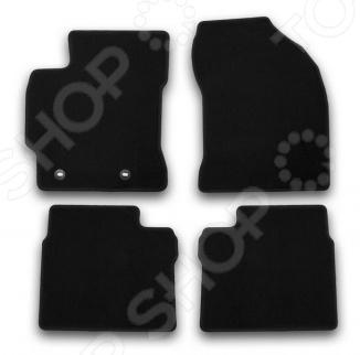 Комплект ковриков в салон автомобиля Klever Toyota Corolla 2013 Econom