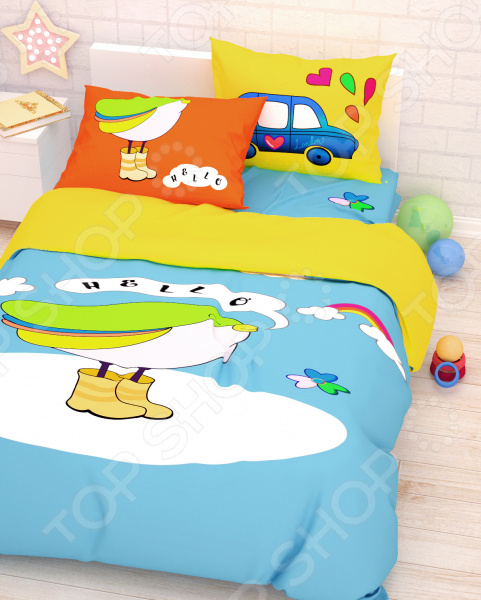 Детский комплект постельного белья Сирень «Привет Долли» детский комплект постельного белья непоседа урок