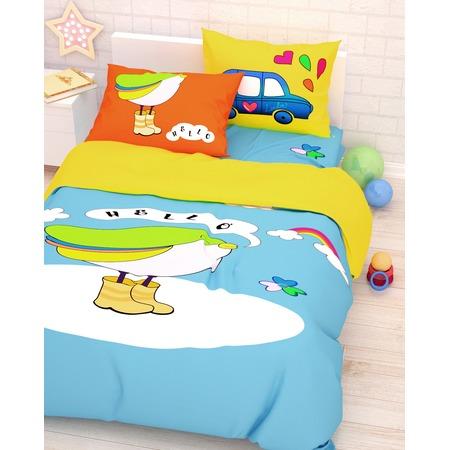 Купить Детский комплект постельного белья Сирень «Привет Долли»