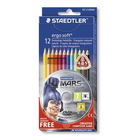 Купить Набор цветных карандашей Staedtler 157C12DVD