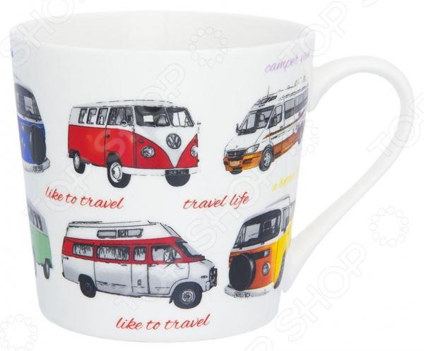 Кружка Elan Gallery «Автобусы» автобусы из владивастока бу