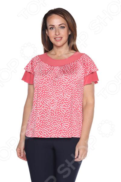 Блуза Лауме-Лайн «Феникс». Цвет: коралловый блуза лауме стиль заветное признание цвет черный