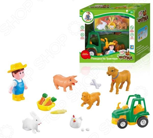 Набор игровой 1 Toy «Поездка на тракторе»