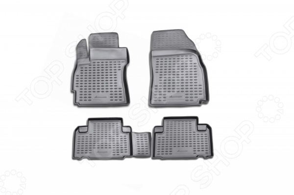 Комплект ковриков в салон автомобиля Novline-Autofamily Mazda 5 2005-2010