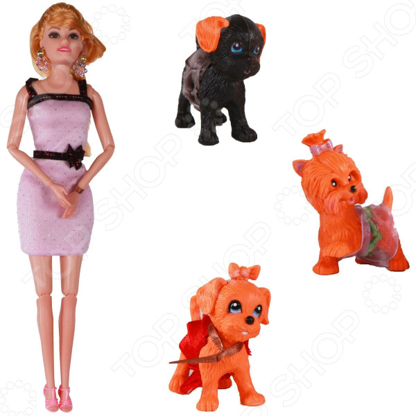 Кукла Yako с любимцами кукла yako m6579 6