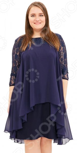 Платье Pretty Woman «Небесная красота». Цвет: синий платье paper dolls платья и сарафаны кружевные ажурные и гипюровые