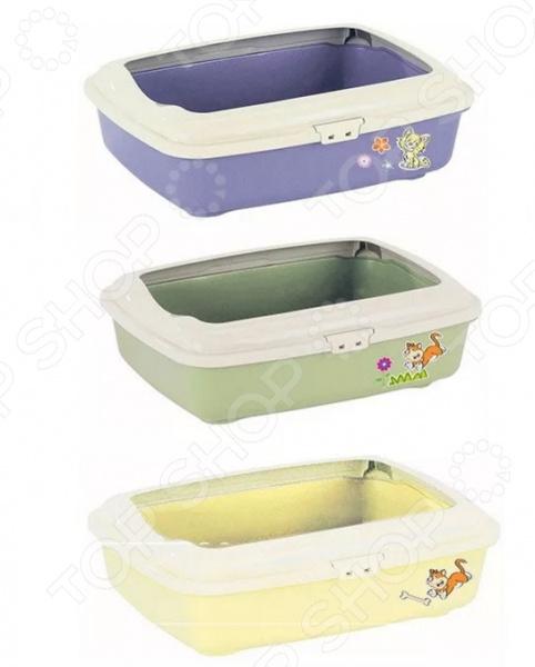 Туалет для кошек MARCHiORO Goa 3 «Пастель». В ассортименте 1066100300098