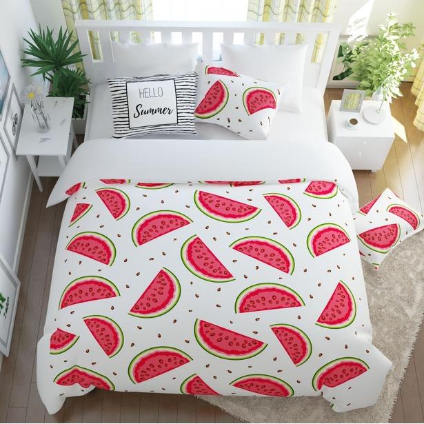 фото Комплект постельного белья Сирень «Арбузный фреш»