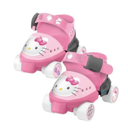 Купить Роликовые коньки с защитой рук и ног детские Mondo «Хеллоу Китти»