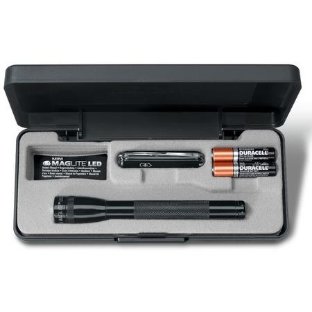 Купить Набор: нож-брелок и фонарь светодиодный Victorinox 4.4024