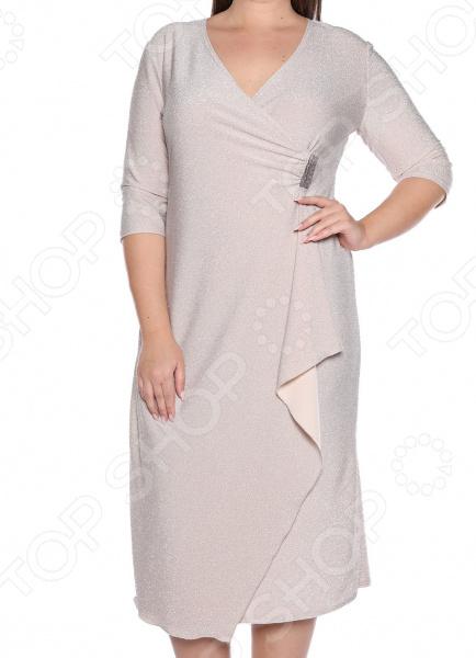 Платье Pretty Woman «Блестящий вечер». Цвет: бежевый