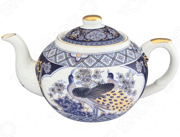 Чайник заварочный с ситом Elan Gallery «Павлин»