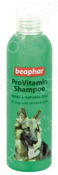 Шампунь для собак с чувствительной кожей Beaphar Pro Vitamin. Herbs&Natural Oils vitamin d3