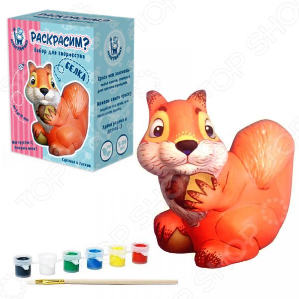 Набор для росписи керамики Игрографика «Филин» набор для росписи керамики игрографика кролик