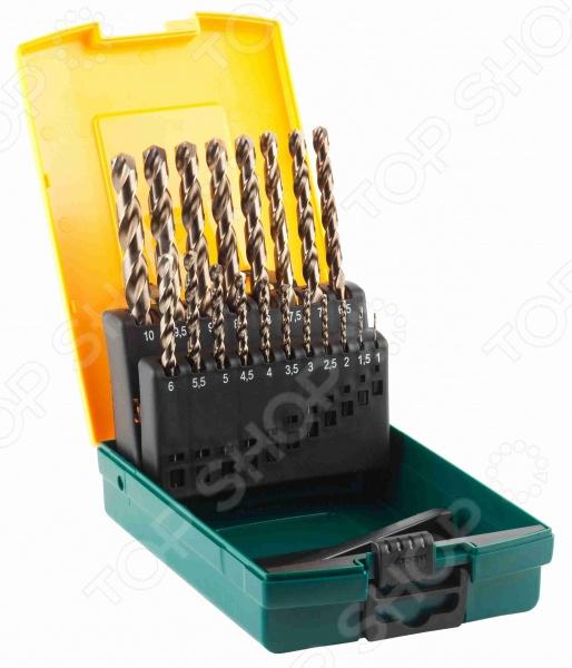Набор сверл по металлу Kraftool Industrie 29655-H19 заклепочник kraftool 31173 усиленный