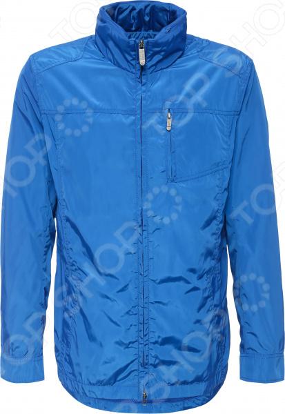 Куртка Finn Flare B16-42004. Цвет: синий