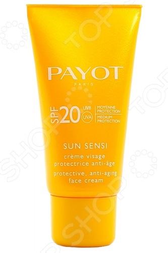 Крем-флюид для лица защитный Payot Sun Sensi