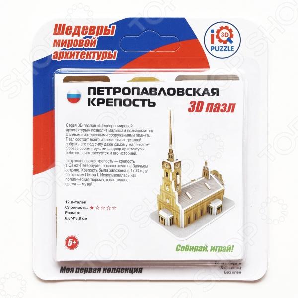 Пазл 3D IQ Puzzle «Петропавловская крепость» кружка printio лисий поцелуй