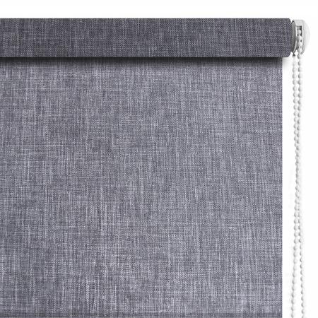 Купить Рулонная штора Эскар «Меланж». Цвет: серый