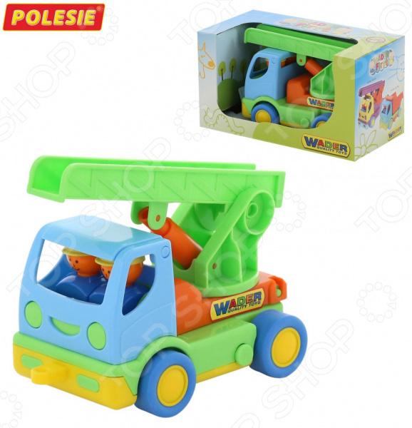 Машинка игрушечная Wader «Мой первый грузовик» автомобиль с цистерной полесье мой первый грузовик в сеточке 5441