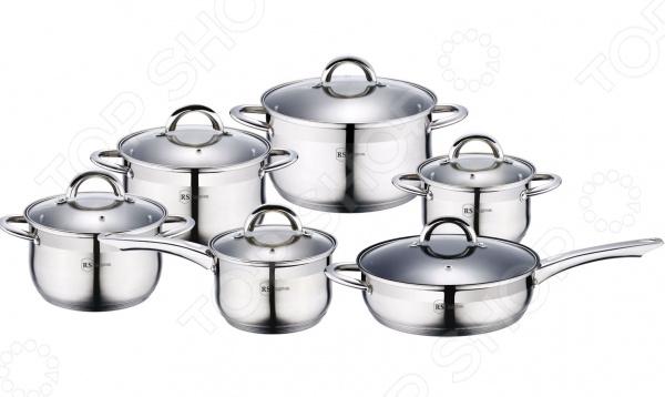 Набор посуды для готовки Rainstahl 1218-12RS/CW кастрюля pasta vitro с крышкой 5 9 л