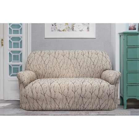 Купить Натяжной чехол на двухместный диван Еврочехол «Ванесса»
