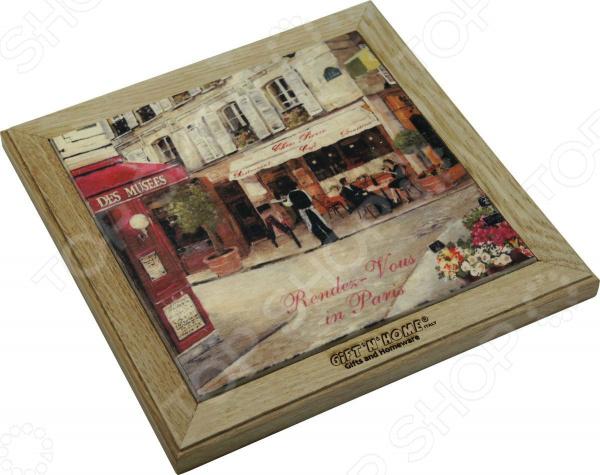 Подставка под горячее Gift'n'home «Свидание в Париже» подставки под телевизоры