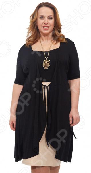 Платье Laura Amatti «Легкое мгновение». Цвет: черный