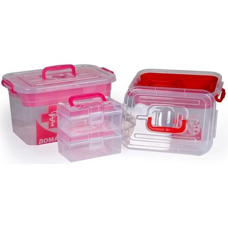 Купить Набор контейнеров для хранения Полимербыт SGHPBKP13 «Домашний Доктор»