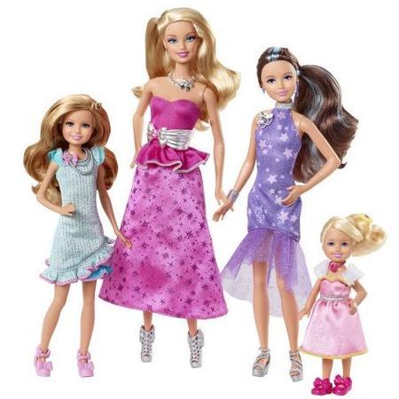 Купить Набор кукол Mattel «Barbie и сестры в сказке о пони»
