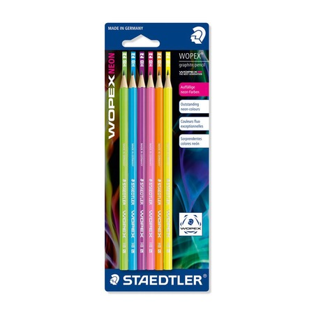 Купить Набор карандашей с ластиком Staedtler 182FBK6