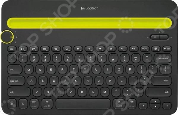 Клавиатура Logitech K480 logitech k380 k480 k780 мульти устройства клавиатура беспроводная bluetooth