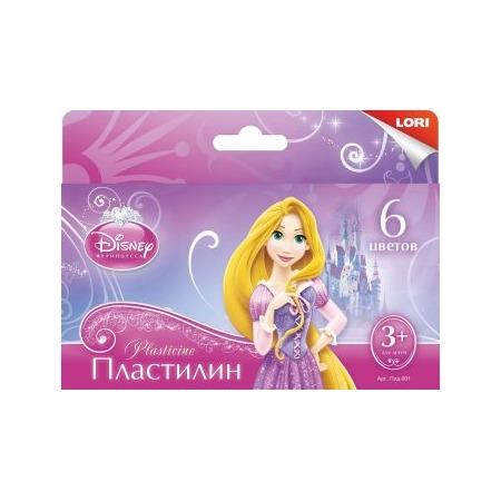 Купить Набор пластилина Lori «Принцессы» 291134