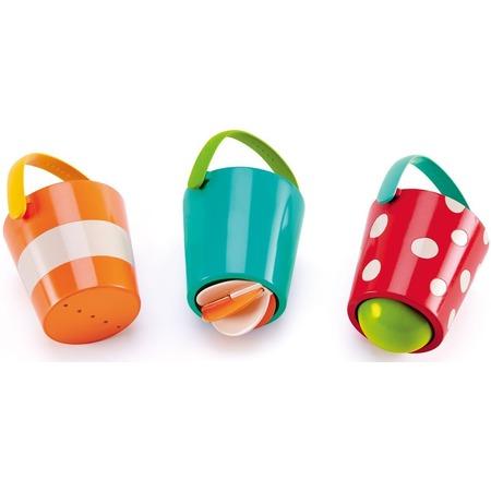 Купить Игрушка для купания Hape «Счастливые ведра»