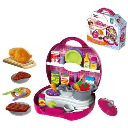 Купить Игровой набор для ребенка 1 Toy в чемоданчике «Профи. Повар»